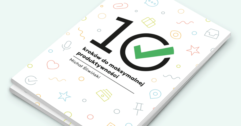 Zdjęcie książki 10 kroków do maksymalnej produktywności